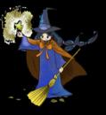 ハロウィン魔女 キラキラ星