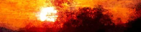 夕日ヘッダー画像