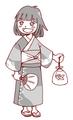 yukataモノクロ